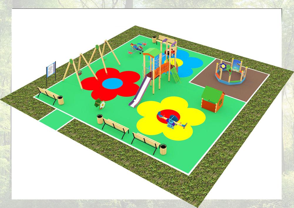 Проект игровой площадки