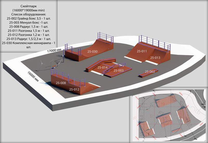 Проект скейт-парк